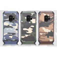 Samsung Galaxy S8 Plus / S9 Plus Camouflage With Shock Proof Phone Case