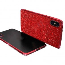Samsung A6 / A6 2018 Plus Electric Rhinestone Silicone Phone Case