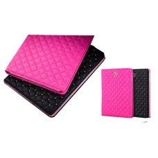 iPad Crown Leather Slim w/Sleep Flipstand Case