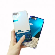 iPhone X Blu-ray Keyboard Soft Silicone Phone Case