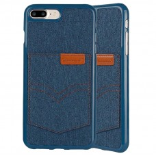 iPhone X Denim Texture Soft Silicone Phone Case