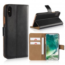 iPhone XS / XS Max Flip Card Holder Leather Phone Case