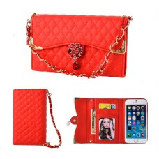 Samsung Galaxy Note 8 Female Purse Diamond Leather With Strap Phone Case