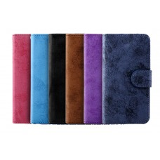 Samsung Galaxy Note 8 Suede Leather Soft Wallet Phone Case