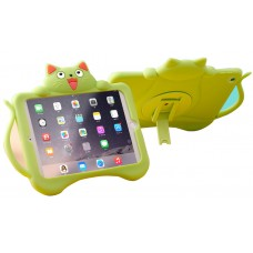 iPad Cat Shockproof Kickstand Silicone Case