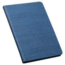 iPad Luxury Wood Grain Flipstand Cover Leather Case